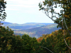 You can't beat spectacular mountain views in Bear Knob