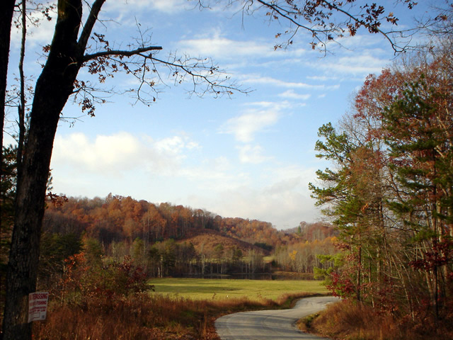 Bear Creek scenic area is just two miles West of Oneida, TN.