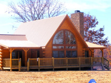 Example of Log Cabin Home in Bear Knob