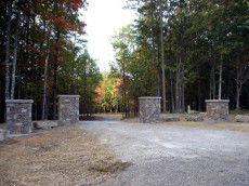 Bear Knob is a private and gated community